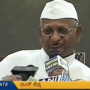 Anna Hazare threatens another fast