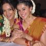 Tapsee & Lakshmi Prasanna in Half Saree
