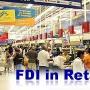FDI in  retail disrupting both houses