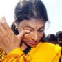 Students Egg and Stone Attack on Sharmila @ Palamuru