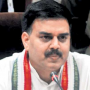Speaker conducts asssembly session with Telangana and tainted ministers issue