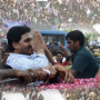 Y.S.Jagan in Lotus Pond after 16 months of jail