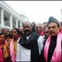 TRS hoists Black flag against AP formation day